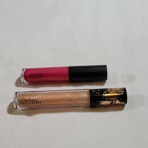 Mac Lip Glass and Dazzle Glass Lipglosses